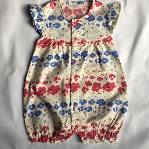 Baby girls one piece outfit 6-12 Months Patriotic